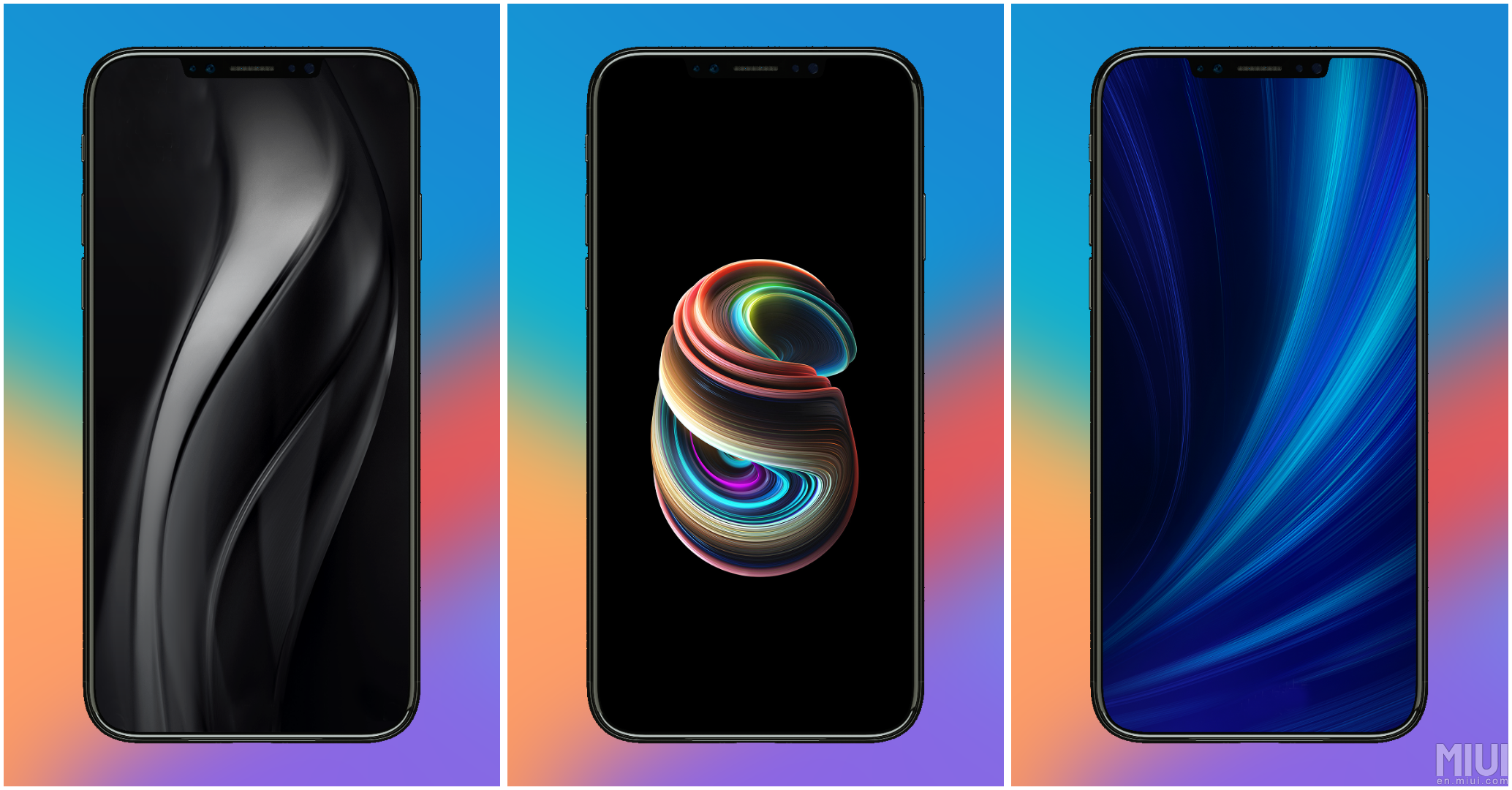 full hd xiaomi mi5x miui 9 stock wallpapers download them now
