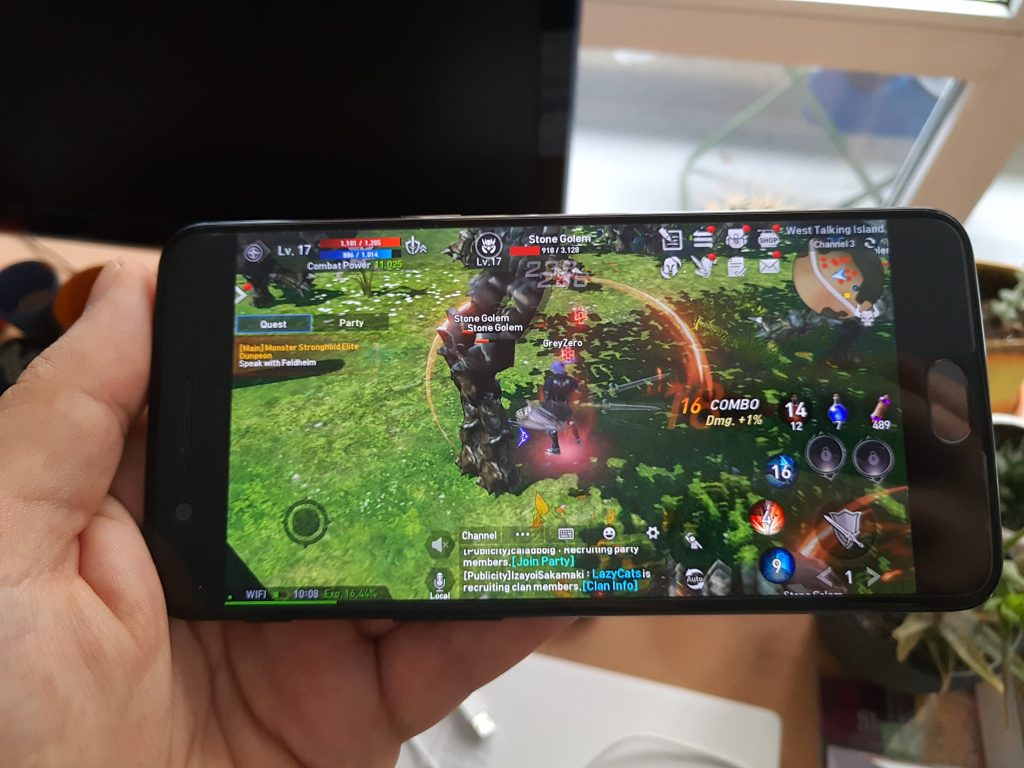 oneplus 5 gaming 8GB RAM