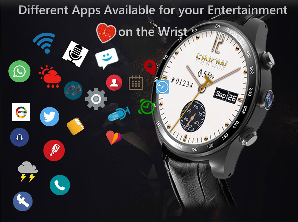 3g smartwatch finow q7 work with android and ios