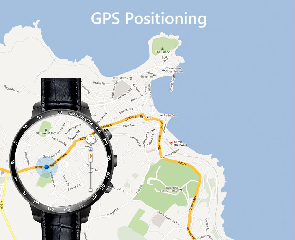 3G Smartwatch Finow Q7 Price - Waterproof GPS Android and