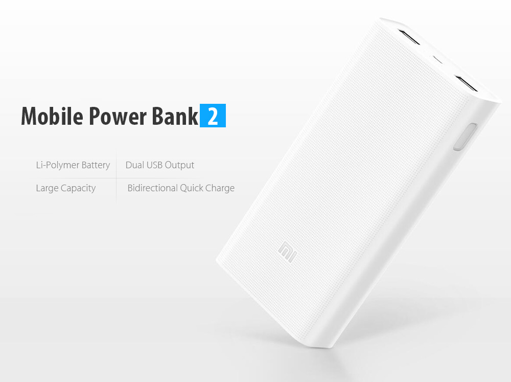 online store 4cb73 51c40 Xiaomi Power Bank 2 Best Price Works with Android, iPhone and Windows