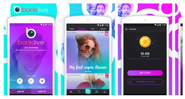 bonk live streaming app