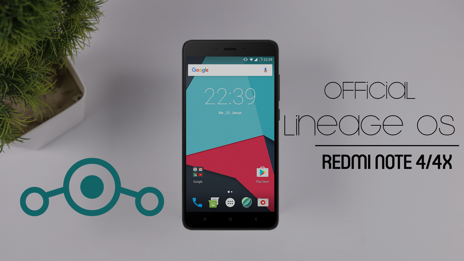 Official Lineage OS 14.1 For Redmi Note 4