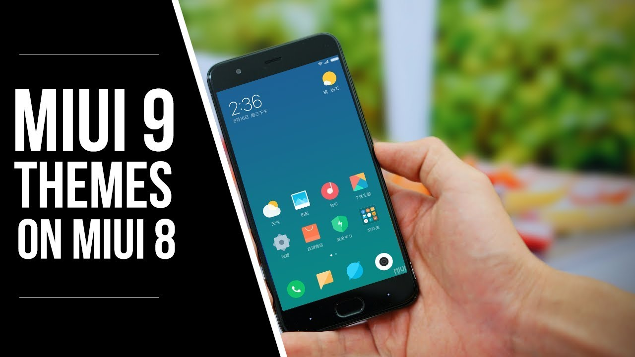 get MiUI 9 Themes