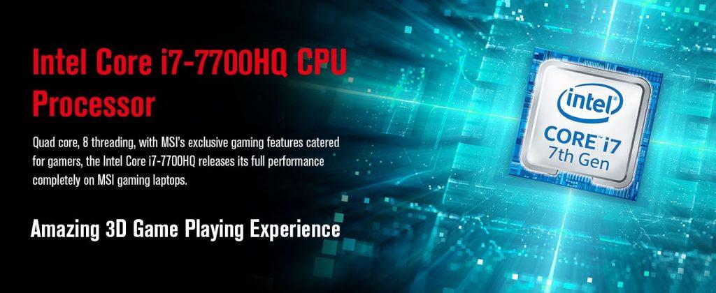 gaming laptop msi GL62M i7 kaby lake
