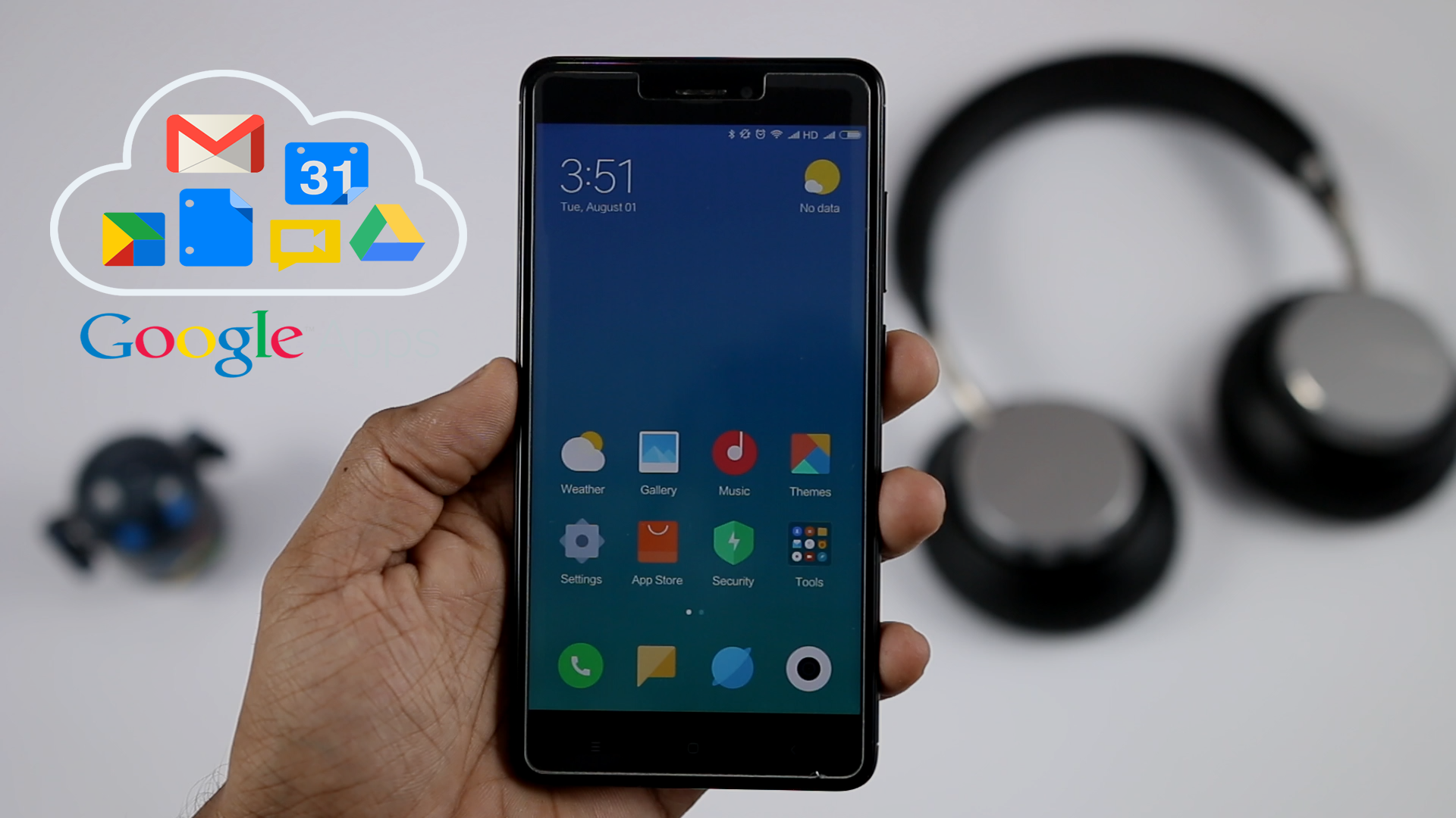MIUI 9 Install Google Apps Without Flashing Zip File (One Click