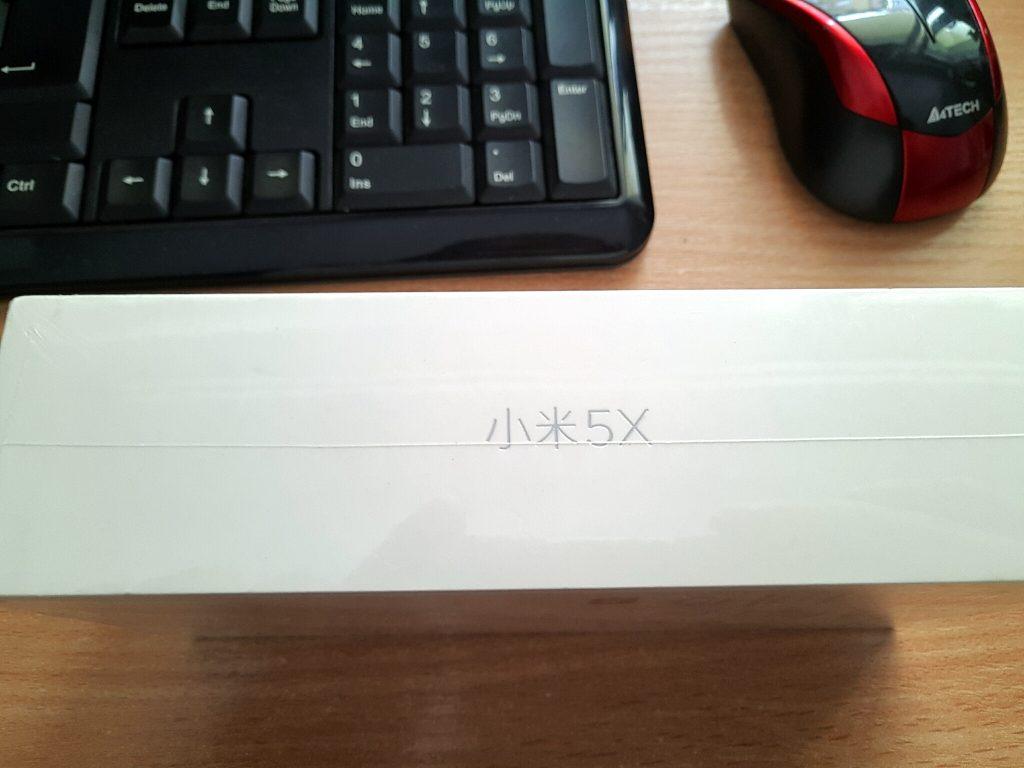 mi 5x box