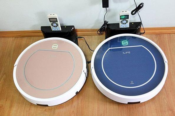 ILIFE V7S Pro smart robotic vacuum cleaner