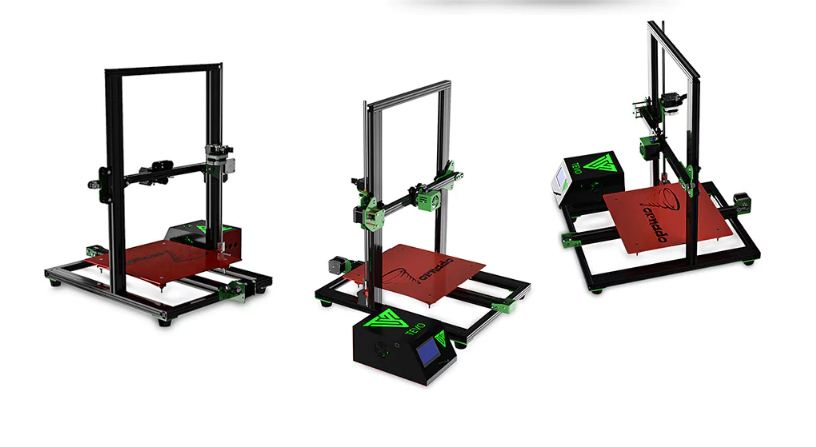 TEVO Tornado Full Aluminum Frame 3D Printer