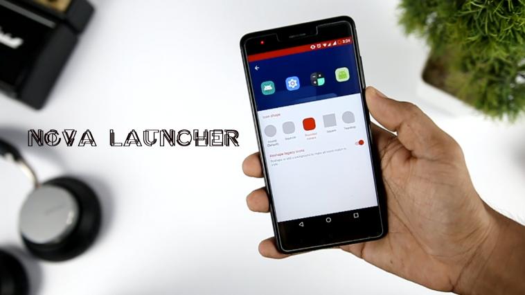 Nova Launcher New Adaptive Icon Feature