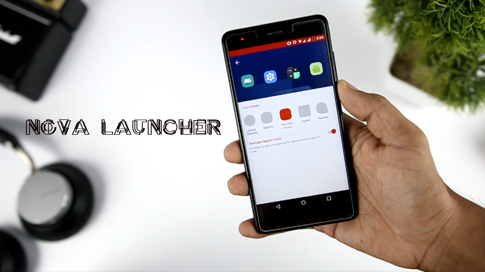 Nova Launcher New Adaptive Icon Feature