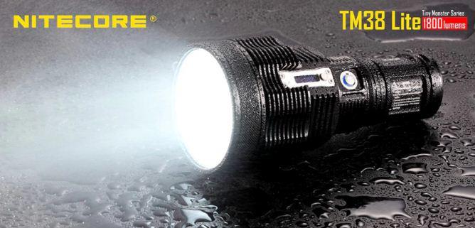 Nitecore TM38 Lite Long Shot Flashlight