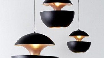 Nordic aluminum mushroom chandelier