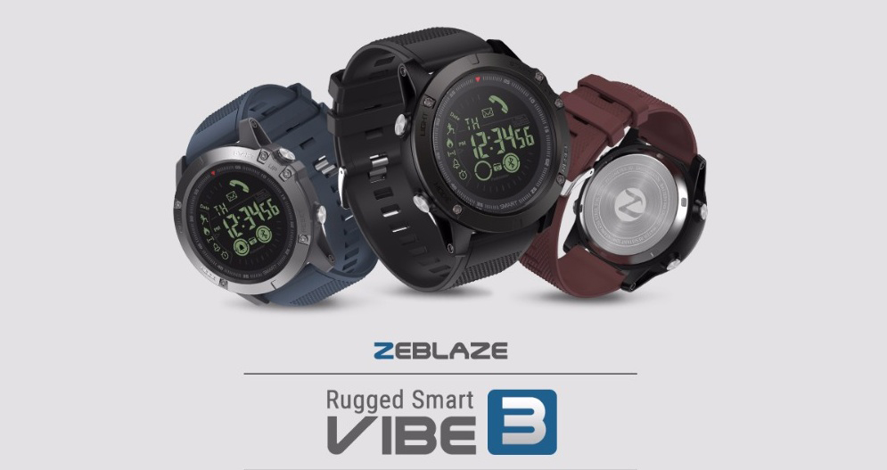 Zeblaze Vibe 3 A Smartwatch With A Dream Price At Gearbest For Just