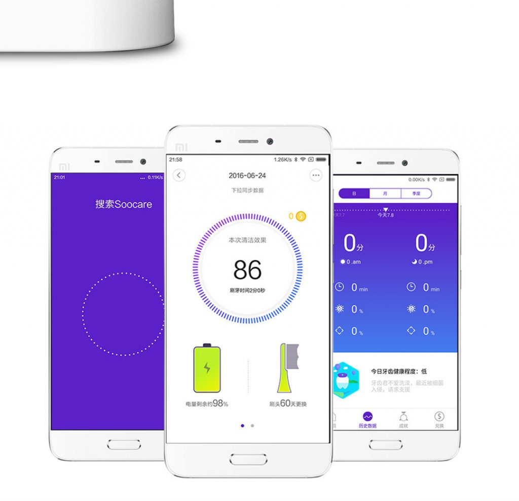 Xiaomi soocare electric toothbrush