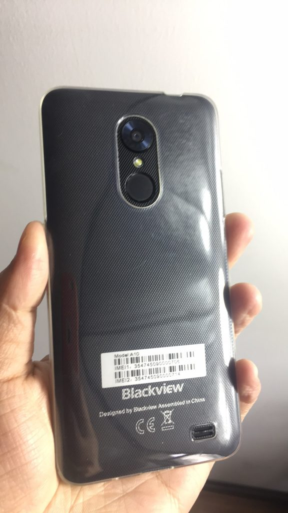 Blackview A10 Review - Rear Design