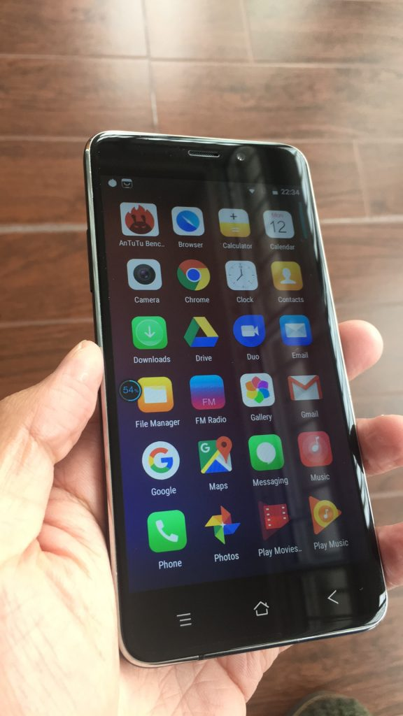 Blackview A10 Review - UI