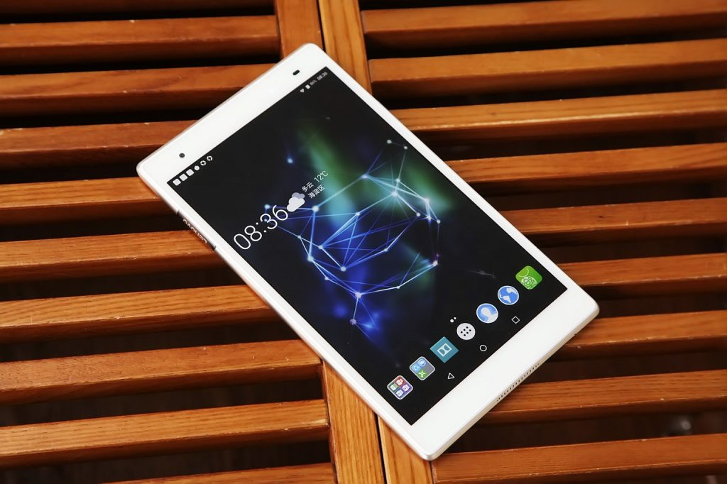 Lenovo Xiaoxin TB 8804F Tablet PC Review - Display
