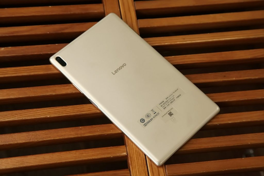 Lenovo Xiaoxin TB 8804F Tablet PC Review - Rear Design