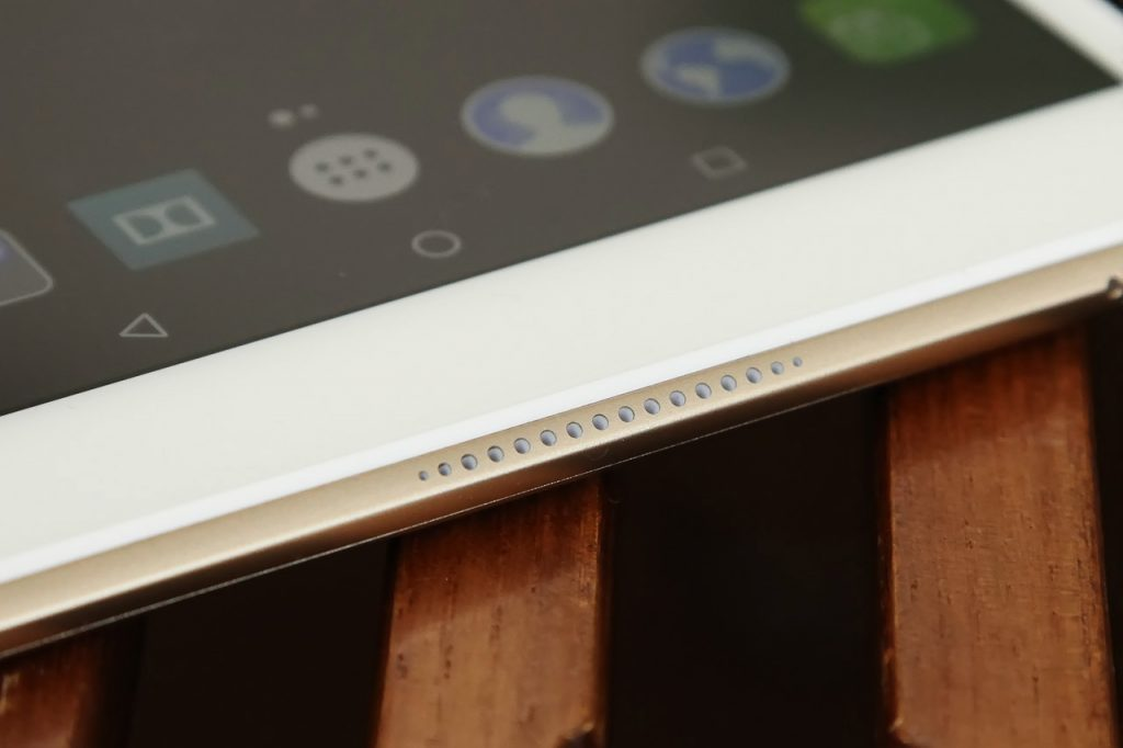 Lenovo Xiaoxin TB 8804F Tablet PC Review - Speakers