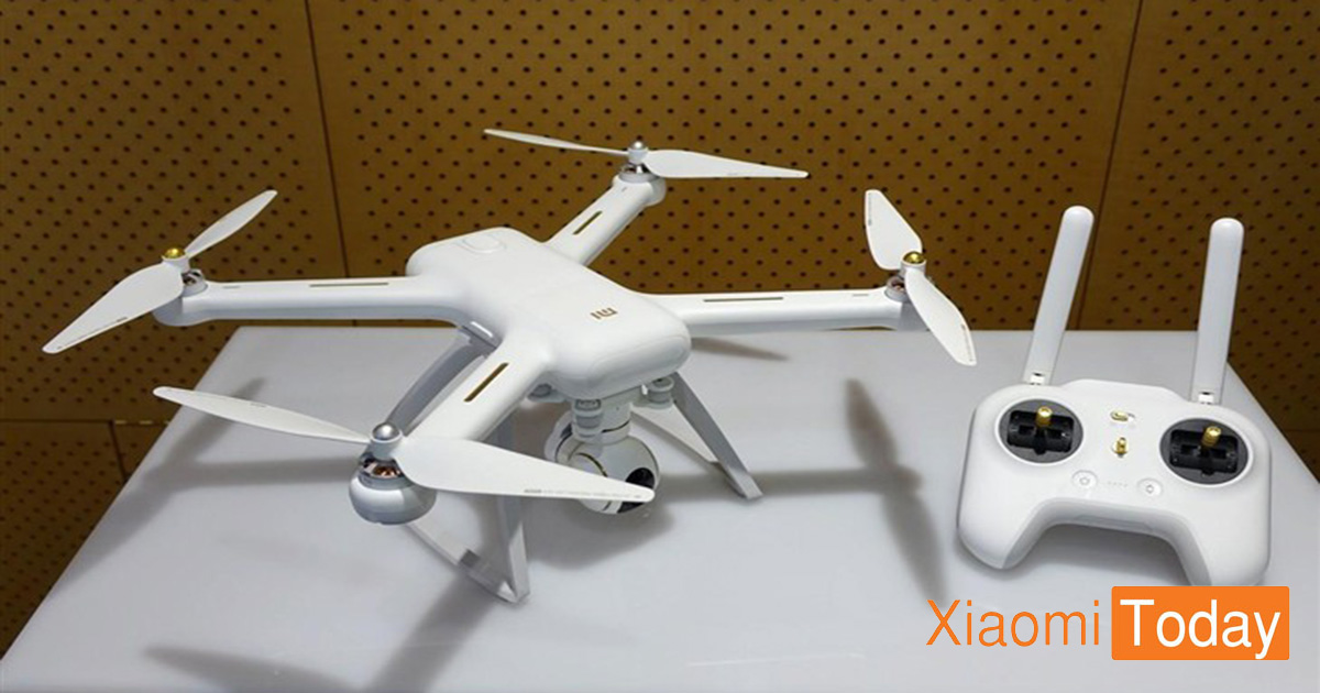 Hot Deal] Grab The XIAOMI Mi Drone 4K UHD WiFi FPV Quadcopter for