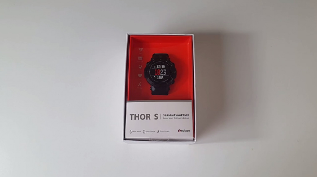 Zeblaze THOR S Review - Package
