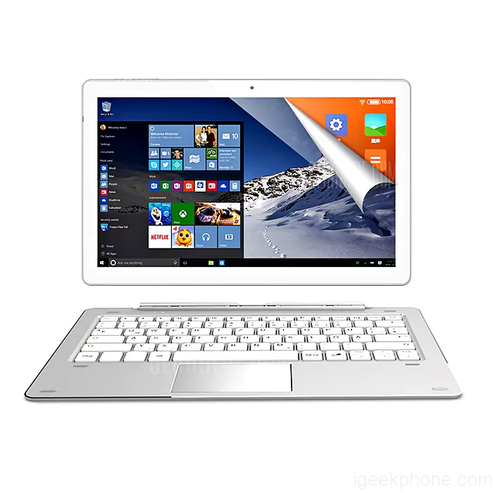 Dual Features of the ALLDOCUBE iWork 10 Pro 2 in 1 Tablet PC and How