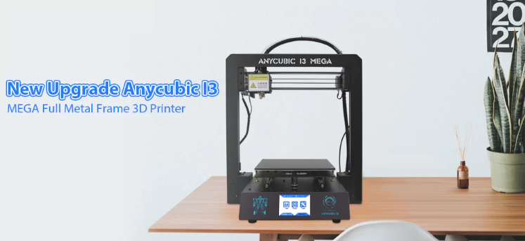 Grab The Anycubic I3 MEGA Full Metal Frame FDM 3D Printer