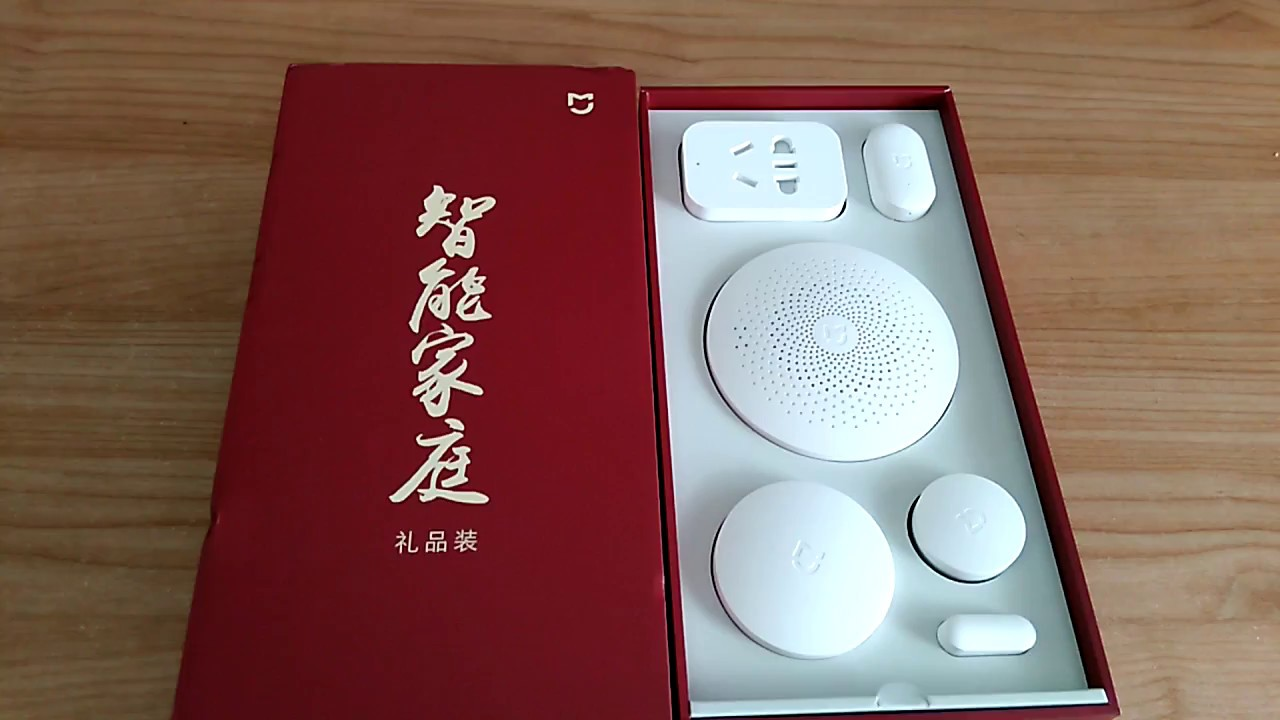 Xiaomi 5 in 1 Smart Home Security Kit for home