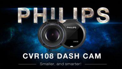 PHILIPS CVR108 1-inch 1920 x 1080P Mini Dash Cam