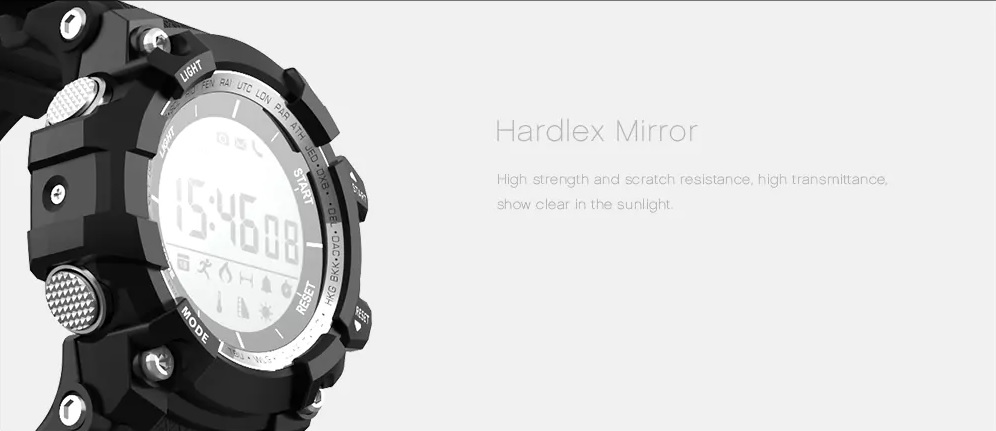 Microwear XR05 Smart Digital Watch display