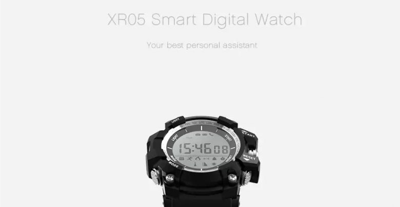 Microwear XR05 Smart Digital Watch featured