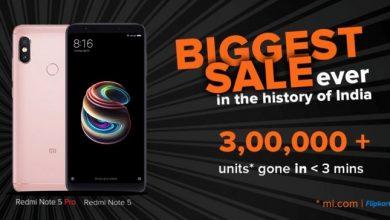 Xiaomi Redmi Note 5 Pro flash sale