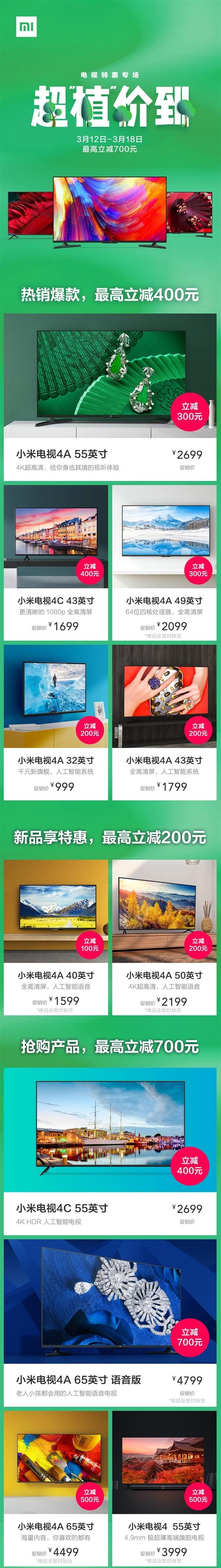 Xiaomi Mi TV 4A Price