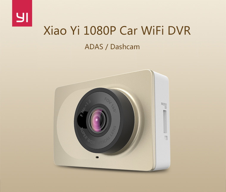 Xiaomi YI 160 Degree Car DVR