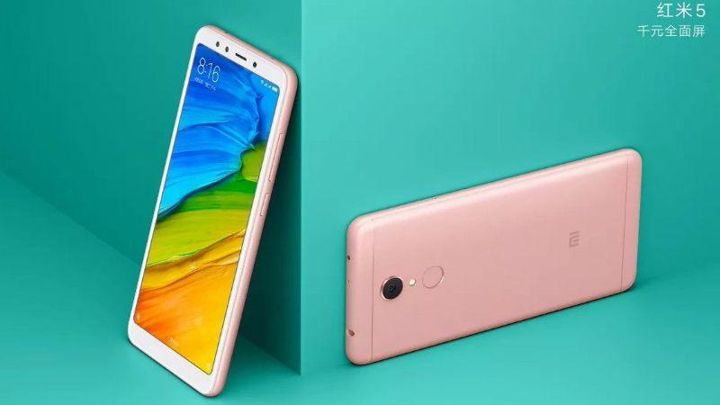 Xiaomi Redmi 5 Launch India