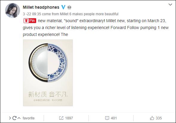 xiaomi headphone