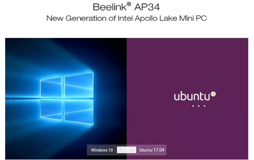 Beelink AP34 OS