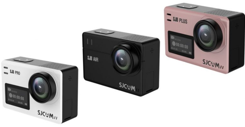 SJCAM SJ8 Series Comparison - 4K, EIS, 60fps and more in the