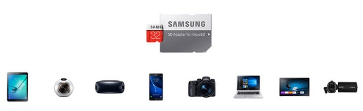 Samsung SD Card compatibility
