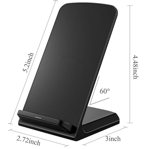 Wireless Charger Phone - Dimensions