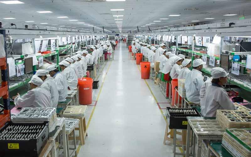 Xiaomi's factory