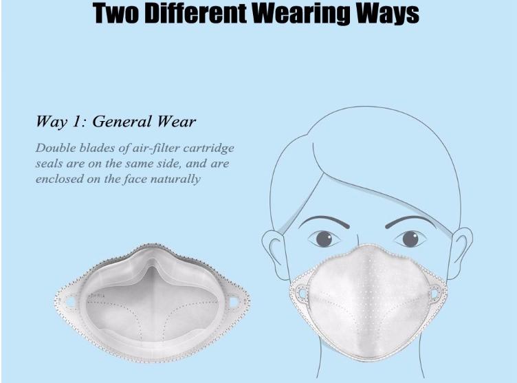 Xiaomi Air Wear PM0.3 Anti-haze Face Mask