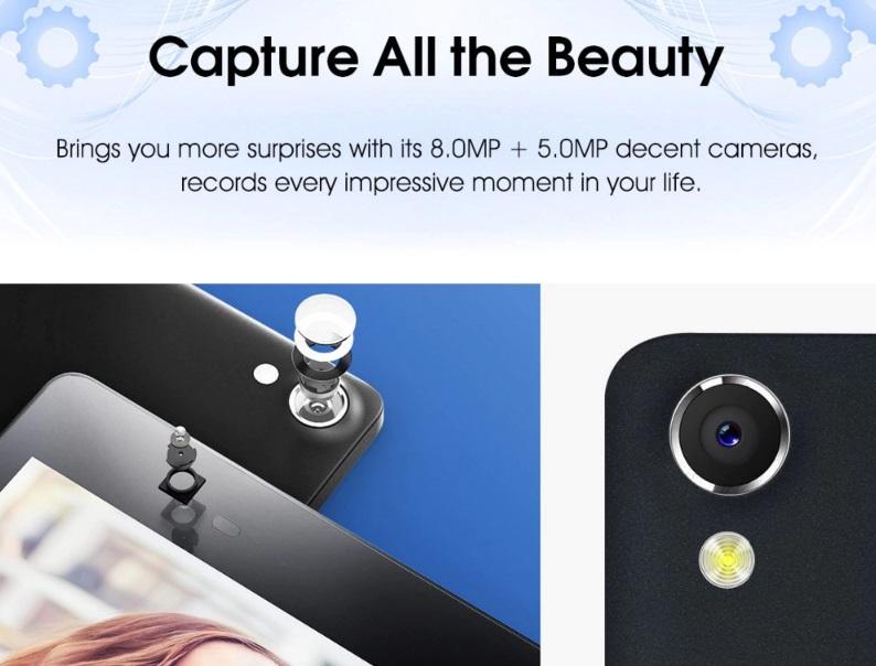 Lenovo Tab3 P8 Plus camera