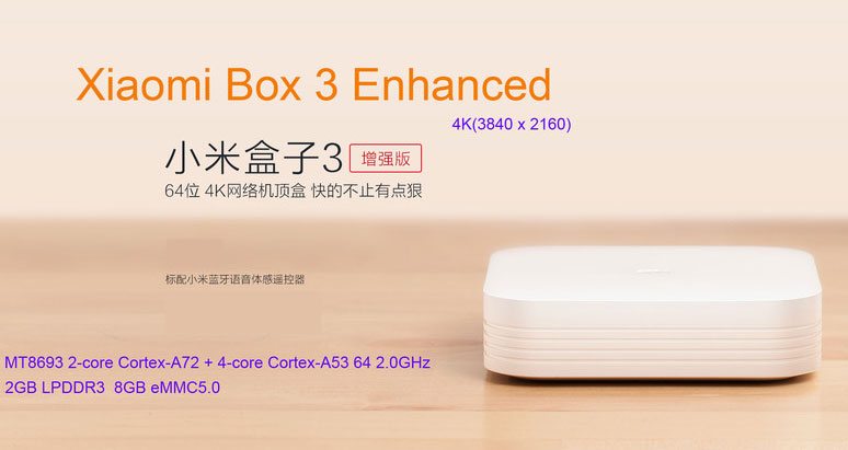 Grab The Xiaomi Mi TV Box 3 Enhanced For $82.46(