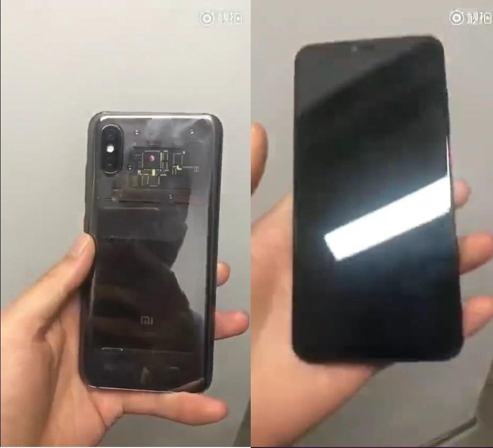 Mi 8 design leaked