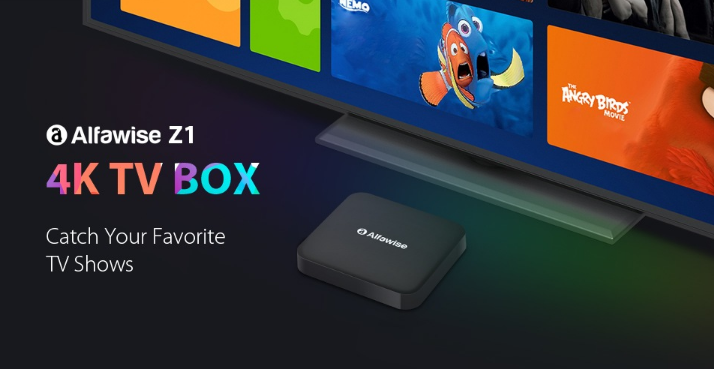 Buy The Alfawise Z1 Tv Box With 2 4g Voice Control For 77