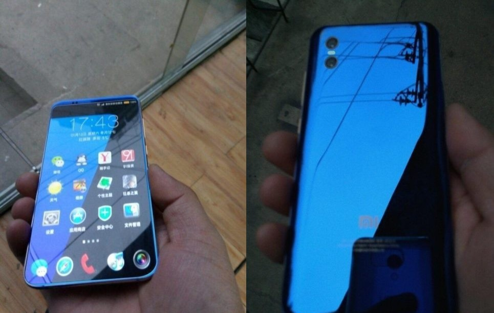 Xiaomi Mi7 Leaked in Images: in-display fingerprint scanner at an unbeatable price