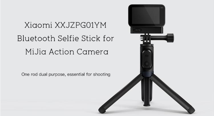 Xiaomi Bluetooth Selfie Stick for MiJia Camera Arrives Gearbest