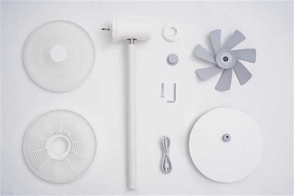 Xiaomi Mijia DC Fan Dismantling - 100% Internals Revealed